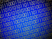 Codes binaires Images libres de droits