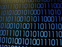Codes binaires Image libre de droits
