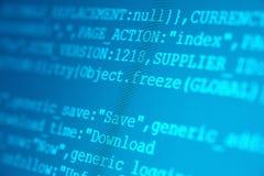 Codes de HTML Images libres de droits
