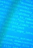 Codes de HTML Photographie stock libre de droits