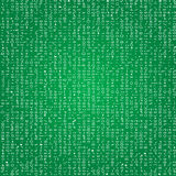 Codes seamless background. Cipher looking vectorized screen shot fonts Stock Photography