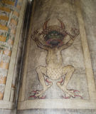 Codex gigas also called Devil's bible Stock Image
