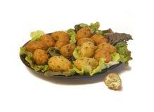 Codfish Cakes/Bolinhos de Bacalhau Royalty Free Stock Images