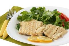 codfish gotowana sałatka Obrazy Stock