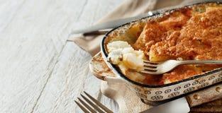 Codfish med potatisar Royaltyfri Fotografi
