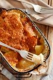 Codfish med potatisar Royaltyfria Bilder