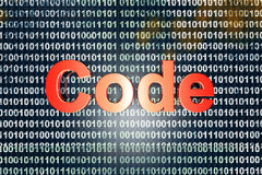 codice Fotografie Stock