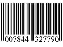 Codice a barre Fotografie Stock
