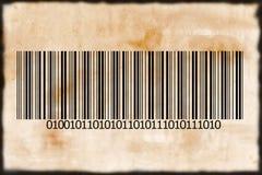 Codice a barre Immagine Stock
