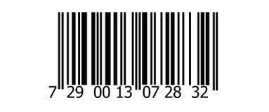 Codice a barre Fotografia Stock