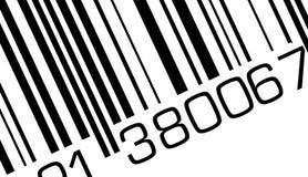 Codice a barre Fotografie Stock Libere da Diritti