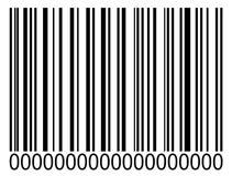Codice a barre Immagini Stock Libere da Diritti
