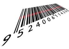 Codice a barre con il laser Immagine Stock Libera da Diritti