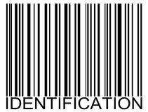 Codice a barre dell'identificazione royalty illustrazione gratis