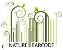 Codice a barre della natura royalty illustrazione gratis