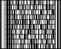 Codice a barre di Codablock F. Fotografia Stock Libera da Diritti