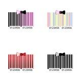 Codice a barre di colore Immagini Stock Libere da Diritti