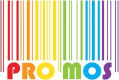 Codice a barre di promozione Immagine Stock Libera da Diritti