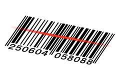 Codice a barre di vettore Fotografie Stock Libere da Diritti