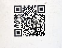 Codice a barre mobile di Pbhone Fotografie Stock