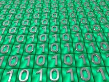 Codice binario. Fotografia Stock Libera da Diritti