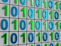 Codice binario. Immagine Stock Libera da Diritti