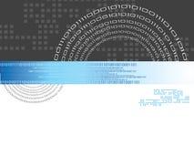 Codice binario Fotografia Stock Libera da Diritti