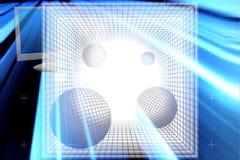 Codice binario astratto Fotografie Stock Libere da Diritti