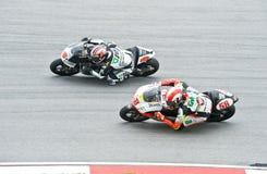 Codice categoria 2009 di MotoGP 250cc Immagine Stock Libera da Diritti