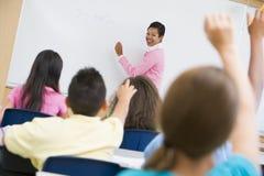 Codice categoria di per la matematica della scuola elementare Immagini Stock