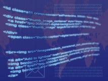 Codice del Internet Fotografie Stock Libere da Diritti