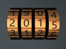 Codice del nuovo anno Fotografia Stock Libera da Diritti
