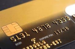 Codice della carta di credito Immagini Stock