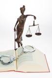 Codice delle leggi per la corte. Fotografia Stock Libera da Diritti