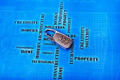 Codice di accesso per alta tecnologia Fotografia Stock Libera da Diritti