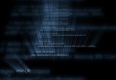 Codice di programmazione Fotografia Stock