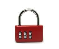 Codice di serratura dei bagagli del lucchetto Immagini Stock