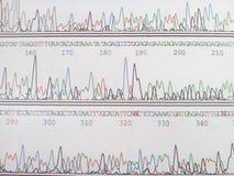 Codice genetico immagini stock libere da diritti