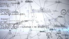 Codici di programma e grafici differenti archivi video