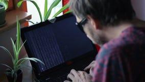 Codificación de Or Hacker Fast del programador metrajes