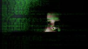 Codificación del niño joven en la PC almacen de video
