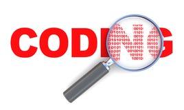 Coding stock illustration