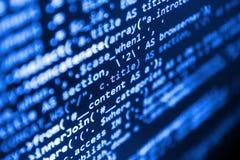 coding Imagens de Stock