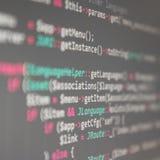coding royaltyfri bild