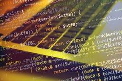 coding Imagem de Stock Royalty Free