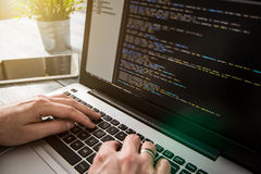 Coding code program compute coder develop developer development. Coding code program programming developer compute web development coder work design software Royalty Free Stock Image