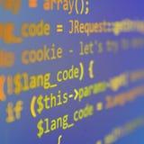 Coding Stock Image