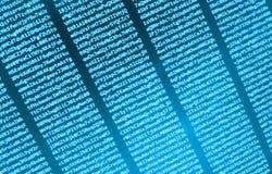 Coding programming source code screen. Royalty Free Stock Photo