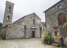 Codiponte, old village in Tuscany Royalty Free Stock Photography