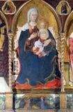 Codiponte (Tuscany), medieval church Stock Photos